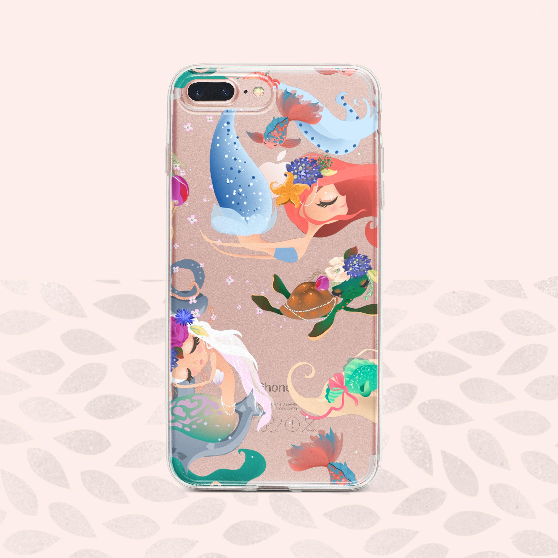 little mermaid iphone xs max case
