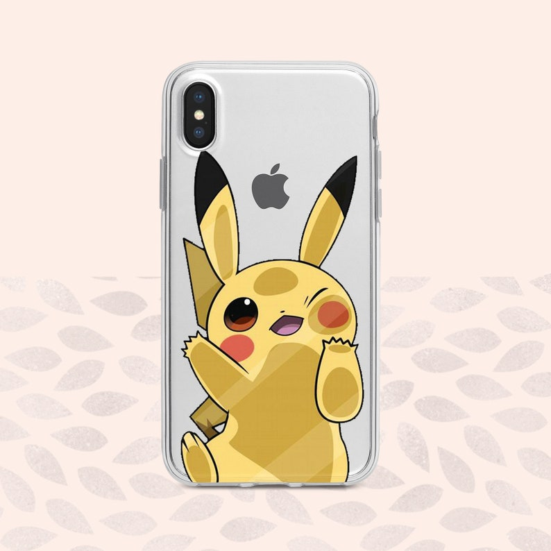 best website e995b 26108 Pikachu case iPhone X clear case Pokemon Pikachu iPhone XS Max case Pokemon  iPhone XR case Samsung S9 case cute Pikachu Samsung Galaxy S10