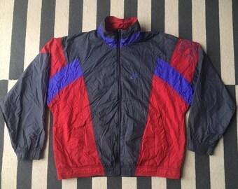 e6549f58241e5 NIKE Windbreaker Jacket Vintage 90s tennis purple Agassi Sampras - Size Men  S