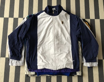 87bf937611cdc Nike Tennis windbreaker Jacket agassi sampras Germany Vintage 90s - Size L  men