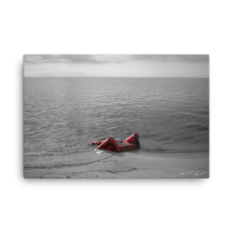 That Sinking Feeling Canvas Wall Art image 0