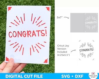 Happy Birthday Card SVG, Anniversary Card SVG file for Cricut, Happy Birthday SVG, Cricut Joy Card Svg