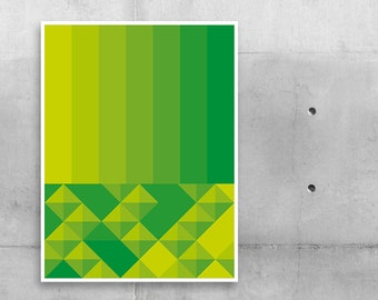 """Poster """"Shades Green"""""""