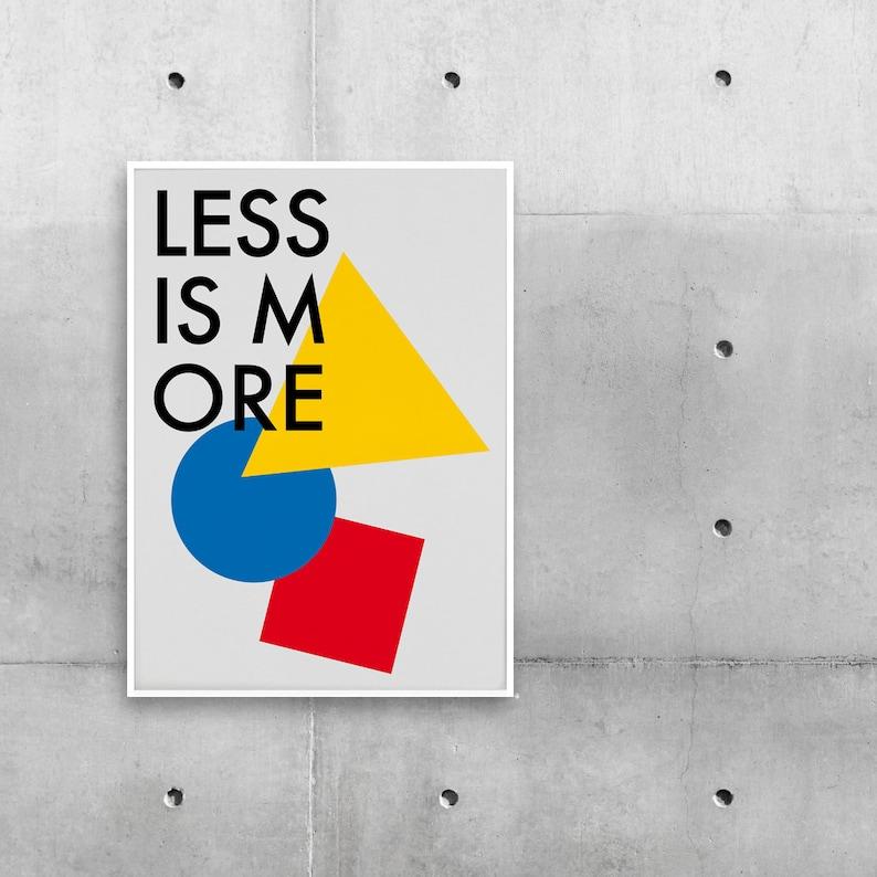 Poster Bauhaus Frisky image 0