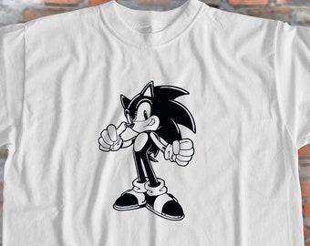 3901579d Sonic the Hedgehog Shirt Sonic Shirt Movie Tshirt Video Game T Shirt  Hedgehog Shirt Gift for Friend