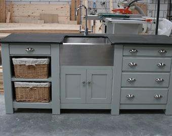 Freestanding Kitchen Sink Cupboard