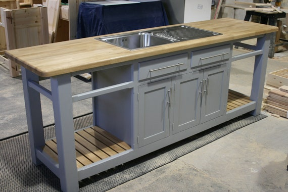 Contempory Modern Kitchen Sink Unit Etsy