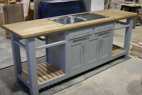 Contempory Modern Kitchen Sink Unit Etsy