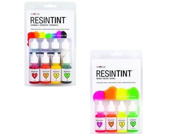 ResinTint Originals + Neon Liquid Pigments (12 colors)