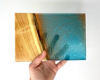 Ash Wood Turquoise and Copper River Board