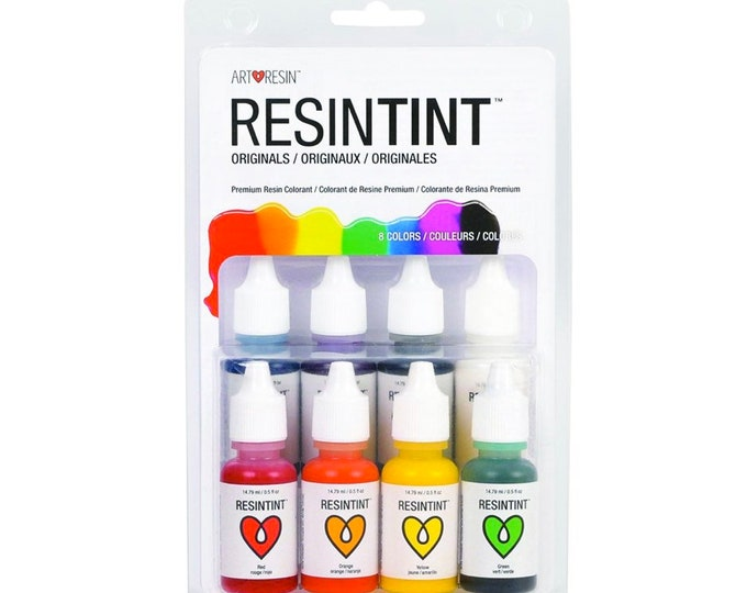 ArtResin ResinTint Originals - Epoxy Resin Colorant, Liquid Pigments