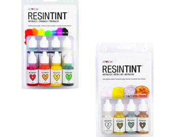 ArtResin ResinTint Originals + Metallics - 12 color bundle