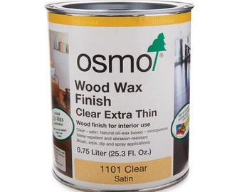 OSMO 1101 Wood Wax Finish .125L