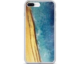 iPhone Case: Image of Ash Wood & Resin Ocean
