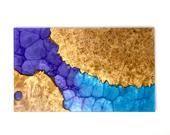 CUSTOM Wood & Resin River Board - Serving Tray, Charcuterie Board, Cutting Board, or Art
