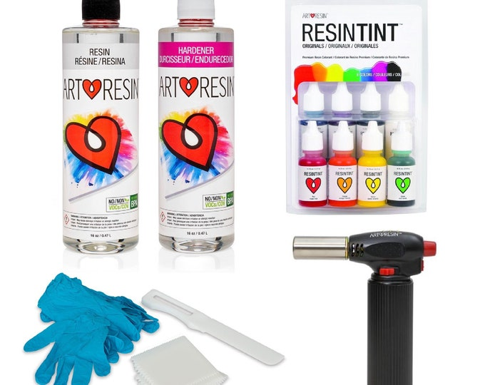 Resin Artist Starter Set with Torch *SAVE*