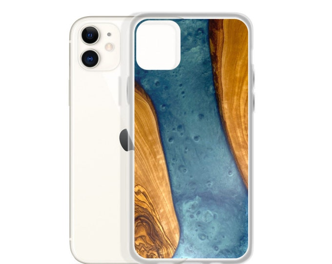 iPhone Case: Olive Wood & Resin Image