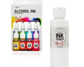 ArtResin Alcohol Ink & White Ink Sinker