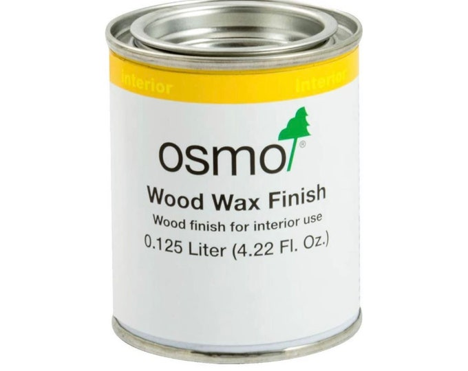OSMO 1011 Wood Wax Finish .125L