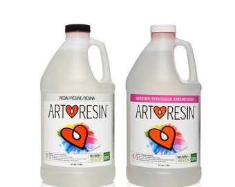 ArtResin Epoxy Resin 1 Gallon Kit