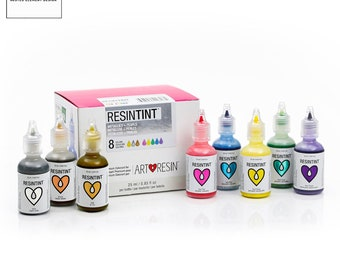 ArtResin ResinTint METALLICS + PEARLS -  Epoxy Resin Colorant