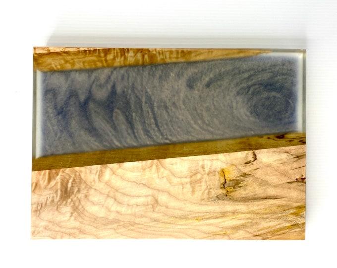 Spalted Maple Purple Haze River Board