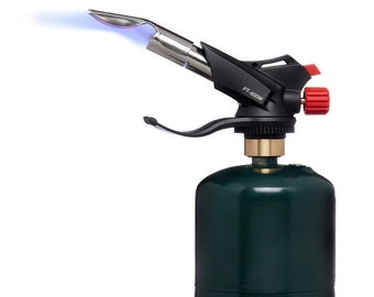 Artist's Propane Torch Head With Wide Angle Flame Attachment