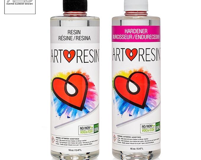 ArtResin Epoxy Resin 32 oz kit  - FDA Certified Food Safe, BPA Free, Non-Yellowing