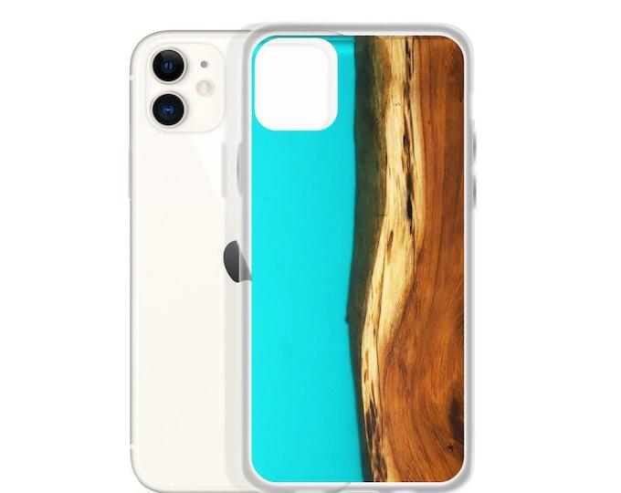 iPhone Case: Old Growth Cedar & Resin Image