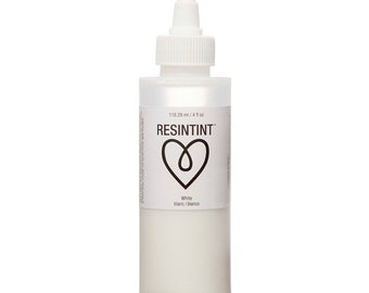 ArtResin ResinTint White - Large Bottle (Not compatible with Alcohol Inks)