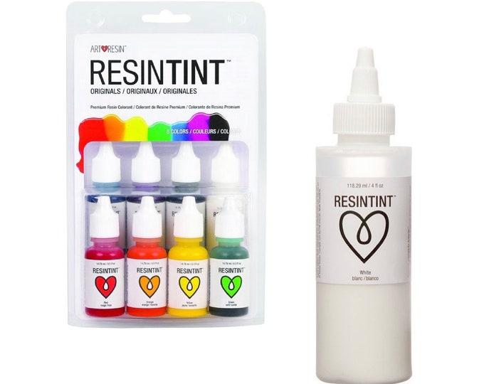 ResinTint Liquid Pigments for Epoxy Resin - Original Colors & White