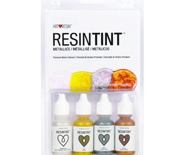 ArtResin ResinTint Metallics - 4 Colors - Epoxy Resin Pigments