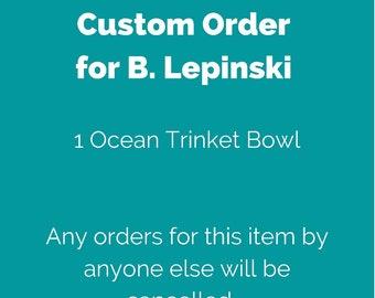 Order for B. Lepinski