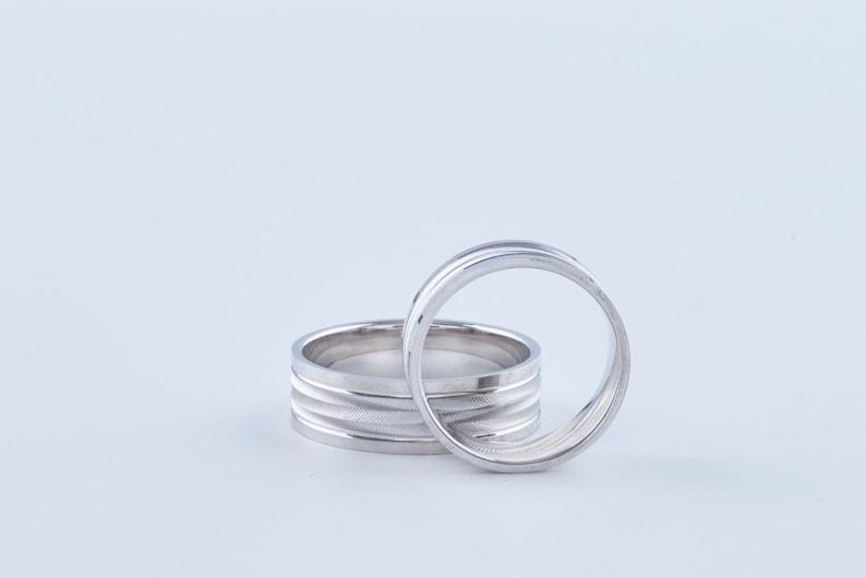 Dainty Promise Stacking Ring Marriage Proposal Unisex Ring Mens Custom Wedding Ring Unisex Dainty Engagement Band