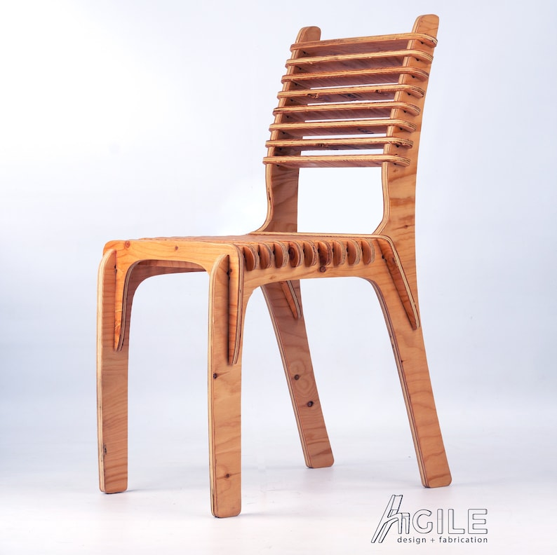 Agile Slat Chair - All natural finishes, easy assembly, sustainable  eco-furniture