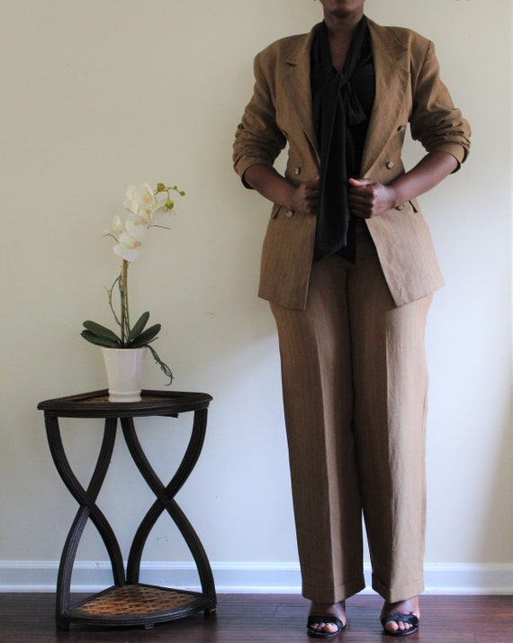 Ann Tjian for KENAR double breast long blazer & ci