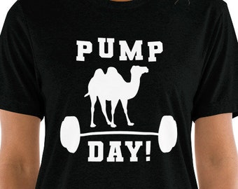 853bff39 Pump Day, Funny Workout Shirts, Funny Gym Shirts, Workout Shirts For Women,  Motivational Workout Shirts