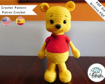 Winnie the Pooh amigurumi pattern 1 (3) - free cross stitch ... | 270x340