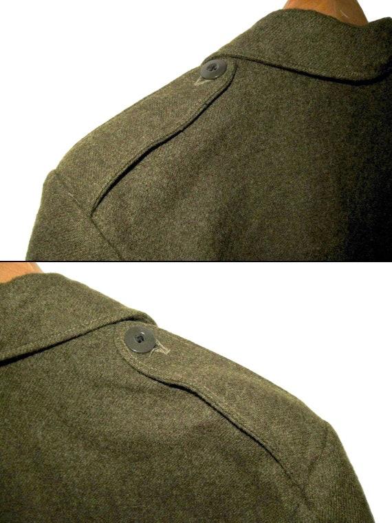 50s Vintage Royal Canadian Army Wool Battledress … - image 9
