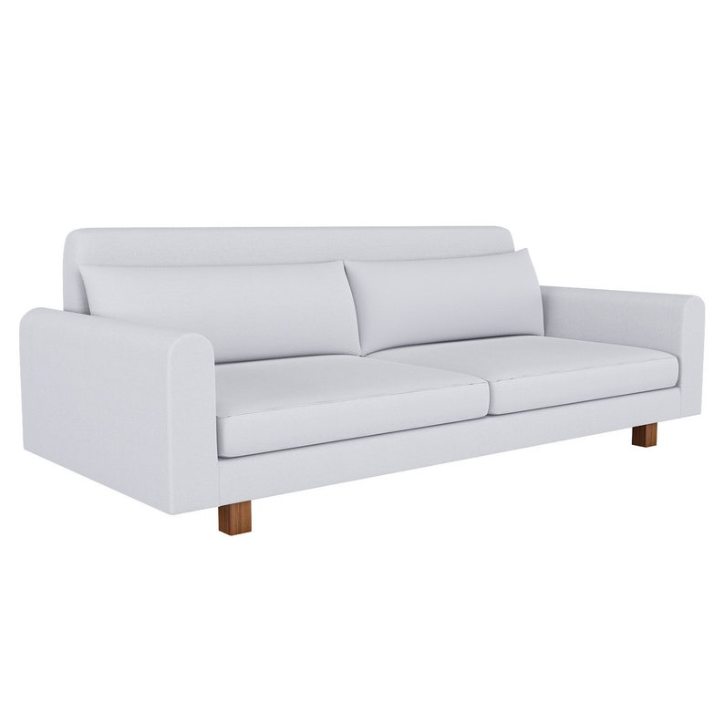 Fantastic Custom Made Cover Fits Ikea Nikkala Sofa With Soft Velcro Loop Ocoug Best Dining Table And Chair Ideas Images Ocougorg