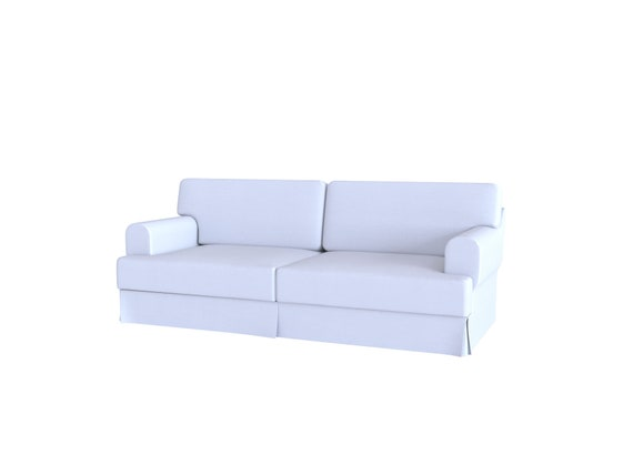 Fantastic Custom Made Cover Fits Ikea Hovas Three Seat Sofa Cover Pdpeps Interior Chair Design Pdpepsorg