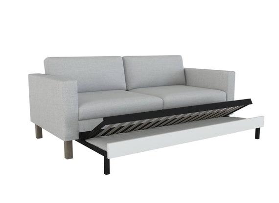 Custom Made Cover Fits Ikea Karlstad, Karlstad Sofa Bed Cover