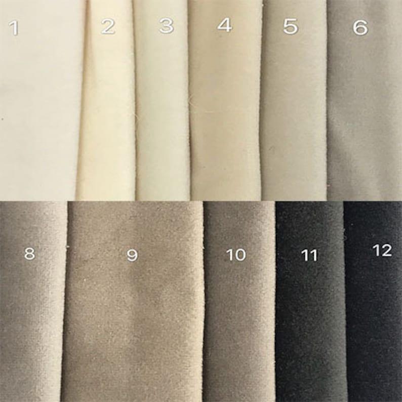 velvet fabric samples available Ektorp 3 Seat Sofa Cover Custom ...