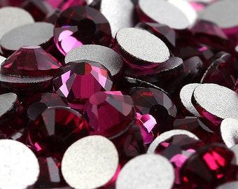8da3e1b7fe99 Nail Art Supply Comparable to Swarovski crystals flat back stones gems  rhinestones non hotfix ALL Sizes for design nails clothes shoes art