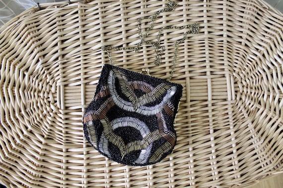 20s vintage beaded purse