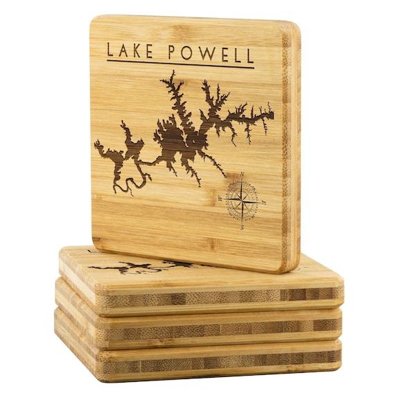 Lake Mcclure Round Edge Bar Board Lake Gift