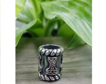 10 5m Stainless Steel Rings Dreadlock Beadl Viking Norse Beard Bead Dread Bead Loc Accessory Ring Bead Dreadlock Sisterlock Braid Bead
