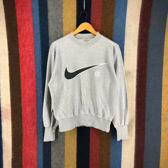 90s Vintage NIKE Silver Tag Sweatshirt Pullover Ni