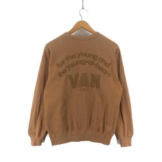 90s Vintage VAN JAC Sweatshirt Pullover Van Jac Bi