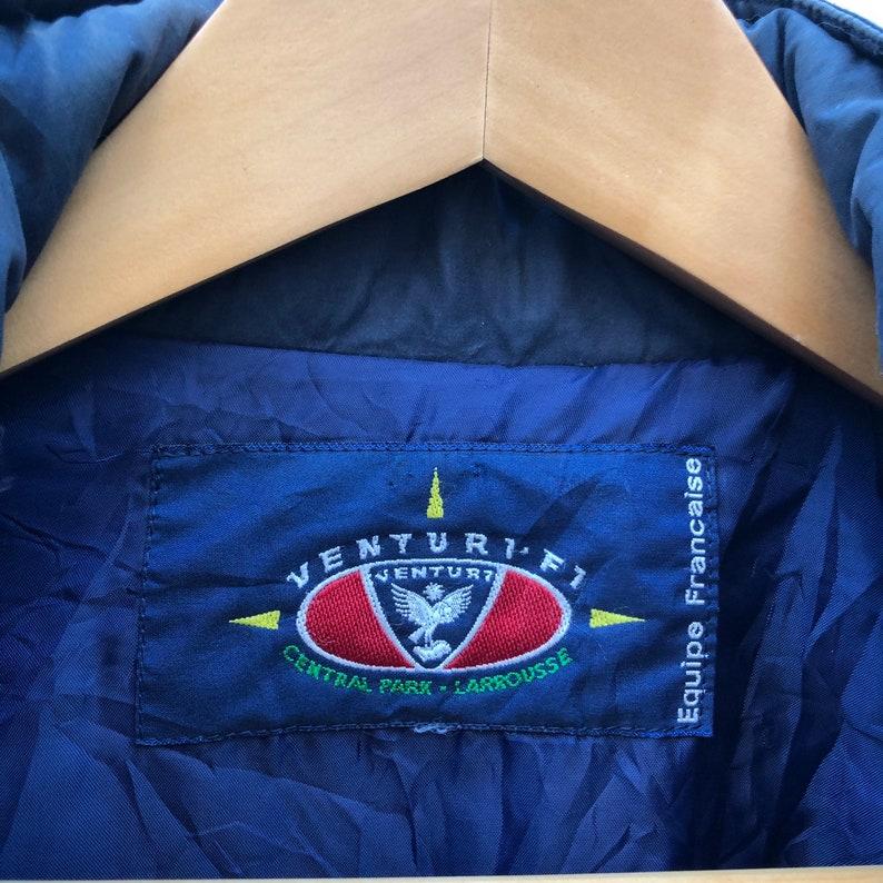 Venturi F1 Central Park Larrousse Long Zipper And Button Jacket Wearable Hoodie Colour Block Big Embroidery Logo Racing Team #0435-11